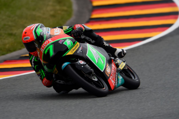 Credit: Drive M7 SIC Moto3 Team and Gold and Goose
